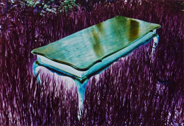 Photo on alucobond in perspex,100 x 150 cm, 1995.